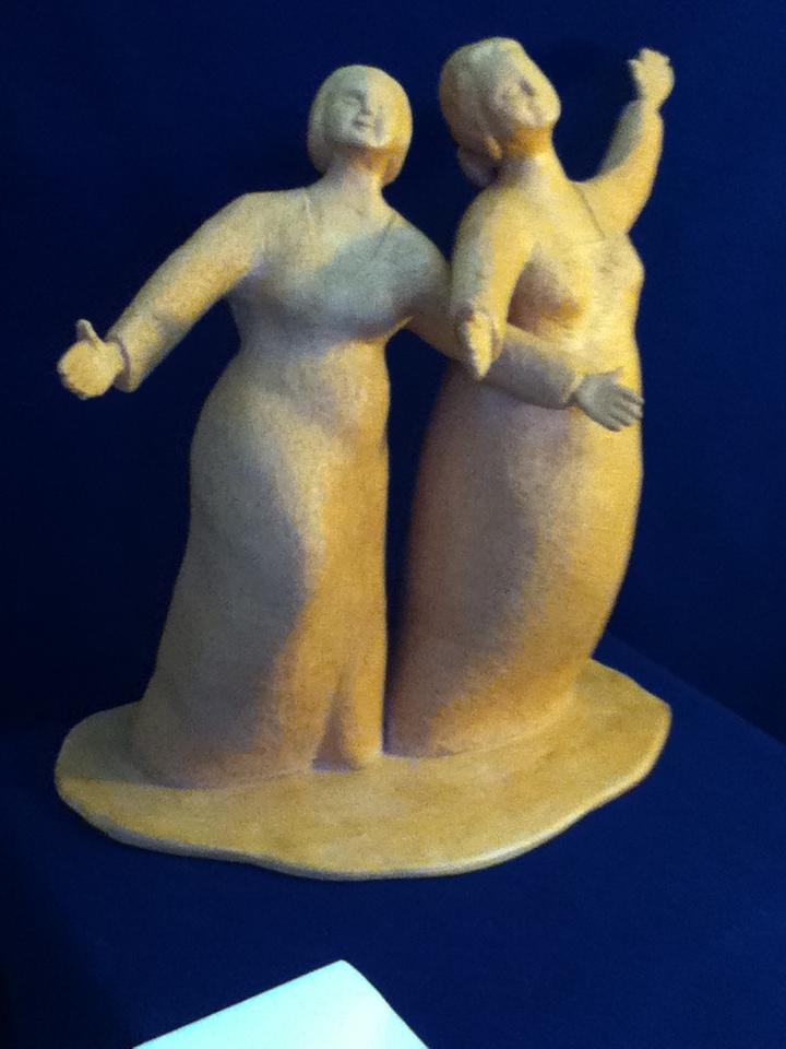 Sister Act,  terracotta, 2012